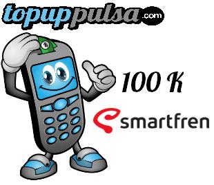 Pulsa Smartfren Nasional - Smart  100.000